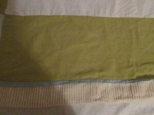 Blue Baby Doll Bedding Modern Hotel Style Crib Skirt//Dust Ruffle for boy