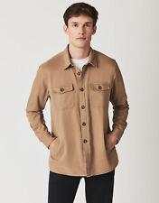 New Crew Clothing Mens Over Shirt Classic Fit in Tan