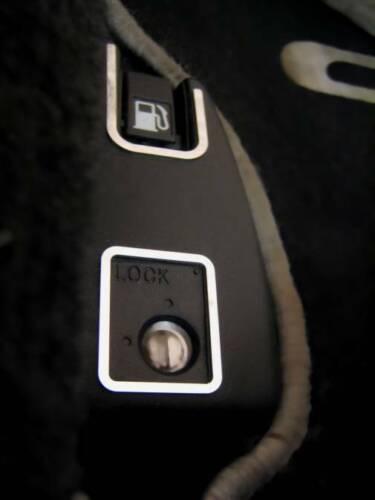 D HONDA CRX Del Sol Chrome-Cadre pour interrupteur Bouchon De Réservoir//Lock-En acier inoxydable