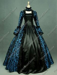 Image Is Loading Gothic Renaissance Queen Vintage Prom Gown Steampunk Reenactment