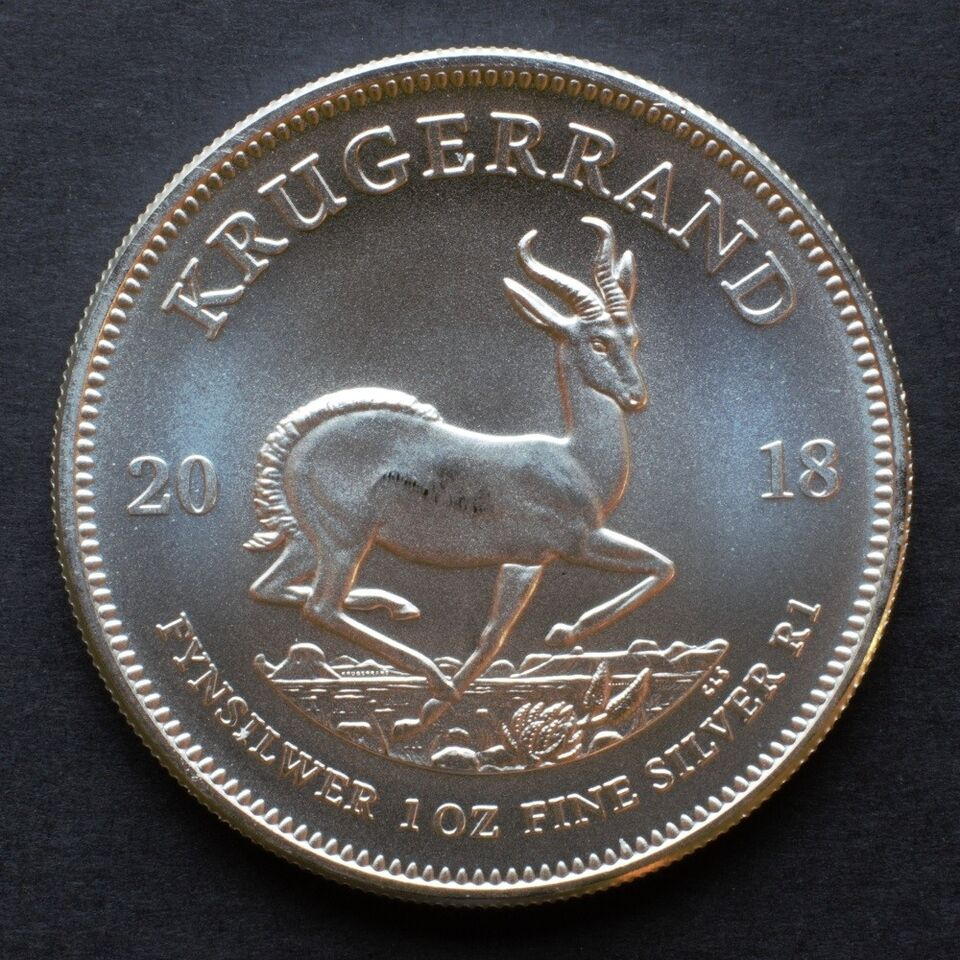 Andet land, guld- og sølvbarre, 5 ZAR