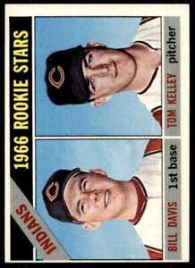 Rookie-Stars-Bill-Davis-Tom-Kelley-Card-1966-Topps-44