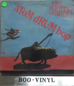 Los-tres-Johns-Atom-Tambor-Bop-12-034-LP-Vinilo-Album-Raro-en-muy-buena-condicion-con