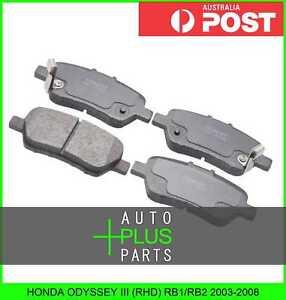 Fits-HONDA-ODYSSEY-III-RHD-RB1-RB2-2003-2008-Brake-Pads-Disc-Brake-Rear