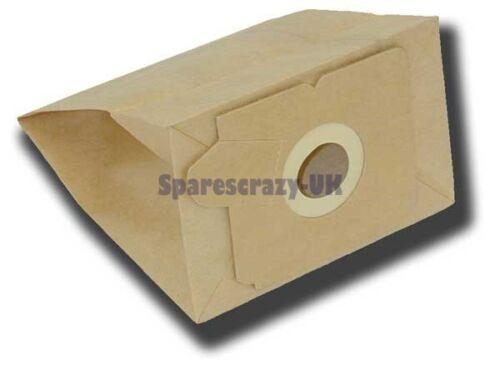 Pour adapter ELECTROLUX Z2320 Aspirateur Poussière Papier Sac 5 Pack