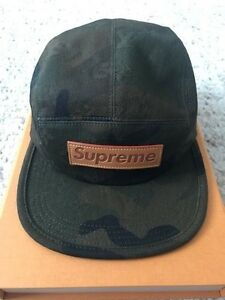Supreme X LV Louis Vuitton Camouflage Monogram Box Logo Bogo Camp ... 24f41b2fbf8d