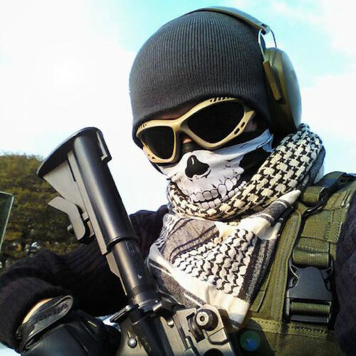 Halloween Skull Skeleton Mask Motorcycle Scarf Cosplay Ski Paintball Balaclava