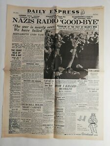 N190-La-Une-Du-Journal-Daily-Express-may-1-1945-nazis-radio-good-bye