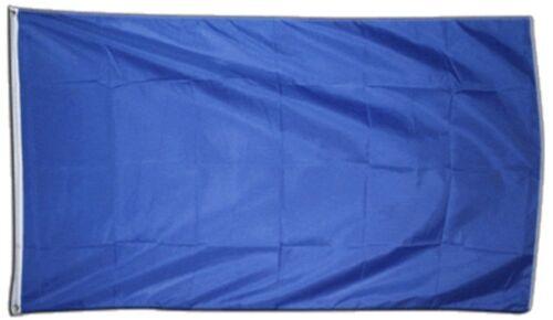 Unicolore Bleu Hissflagge Bleu drapeaux drapeaux 60x90cm