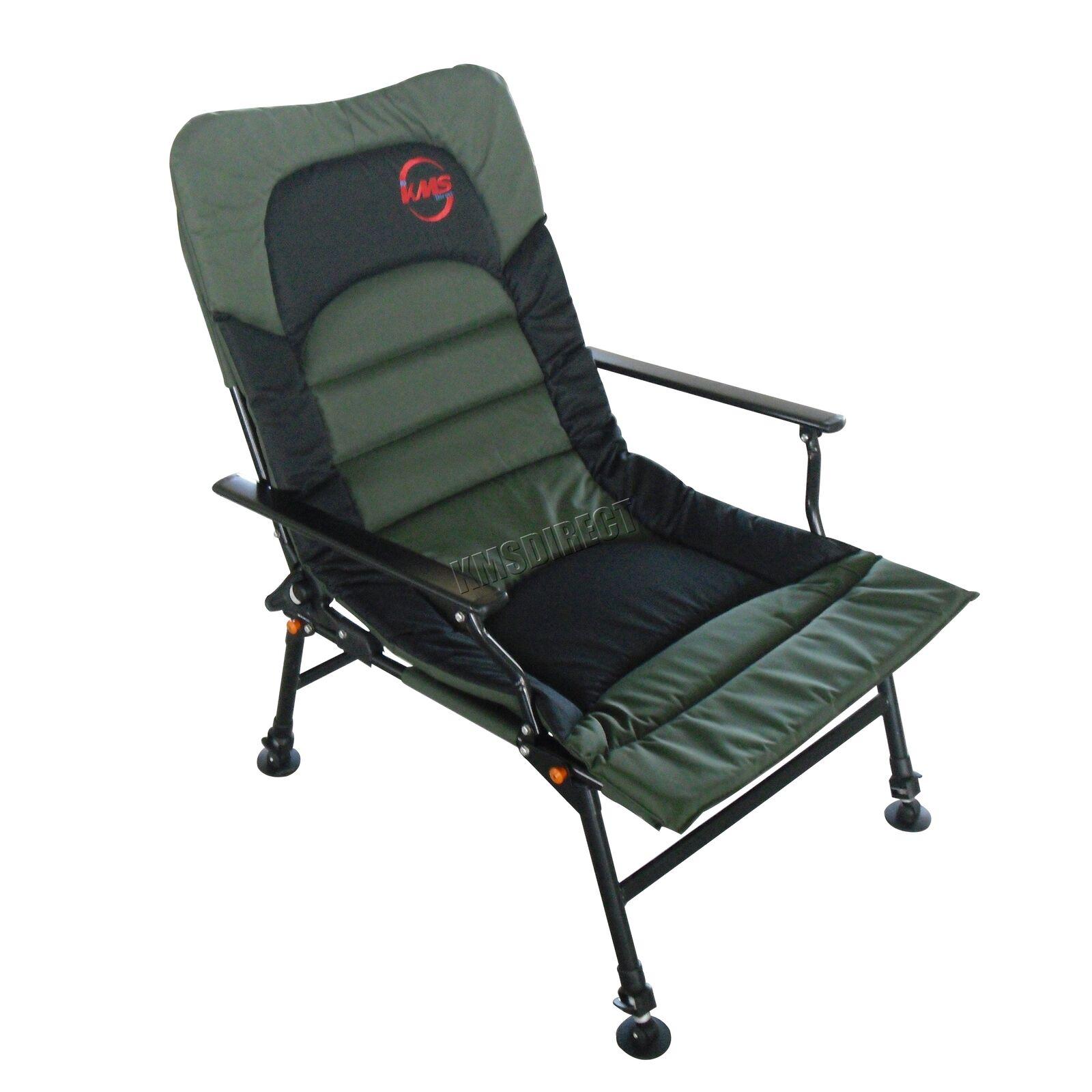 Camping Fishing Chair – XL Carp Grün Fishing Equipment Folding Adjustable Legs