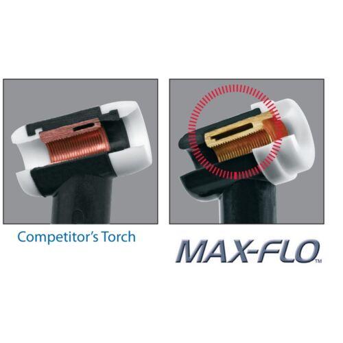 CK Worldwide 12.5ft 20 Series Superflex TIG Torch with Flex Head and Valve
