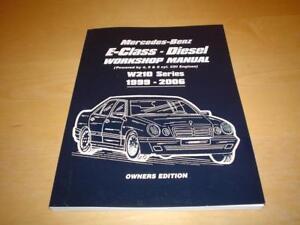 mercedes e class w210 e200 e220 e270 e320 diesel cdi owners manual rh ebay ie Mercedes W209 Mercedes W212
