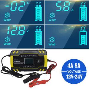 Chargeur-de-Batterie-Voiture-Rapide-Smart-Indicateur-Pour-Auto-Moto-4-8A-12v-24V
