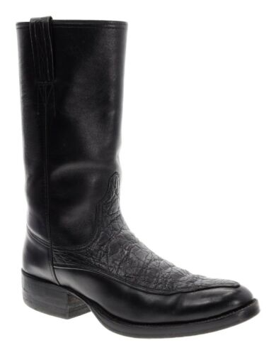 LITTLE'S BOOTS 9 D Mens WILDEBEEST Leather Overlay