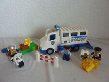 LEGO Duplo Polizei Transporter + Motorrad - Set 5680 + 5679 - Bankraub - TOP!