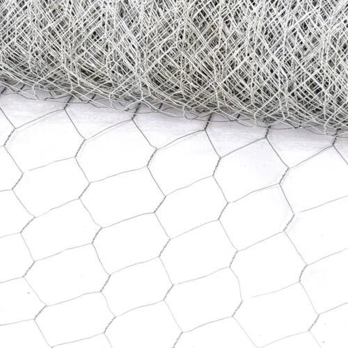 Metal Wire Mesh Rabbit Guard Fencing Galvanised Garden Fence 15m//20m//25m//30m//50m