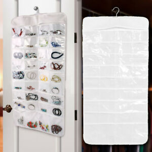 72-Pockets-Jewelry-Hanging-Storage-Bags-Earring-Display-Organizer-Holder