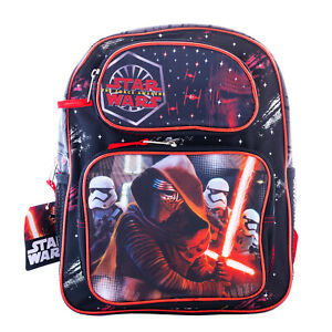 Details About Star Wars Backpack 12 Medium School Kids Book Bag The Force Awakens