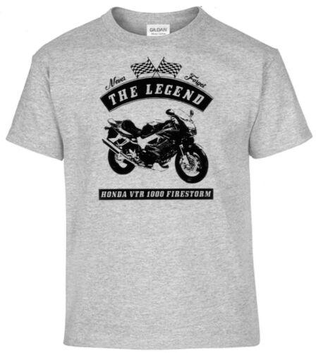 Oldtimer Youngtimer Motorcycle Honda VTR 1000 Firestorm T-shirt Bike