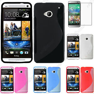 Coque-Silicone-S-line-Gel-HTC-One-M7-M8-M9-Max-Mini-S-SV-X