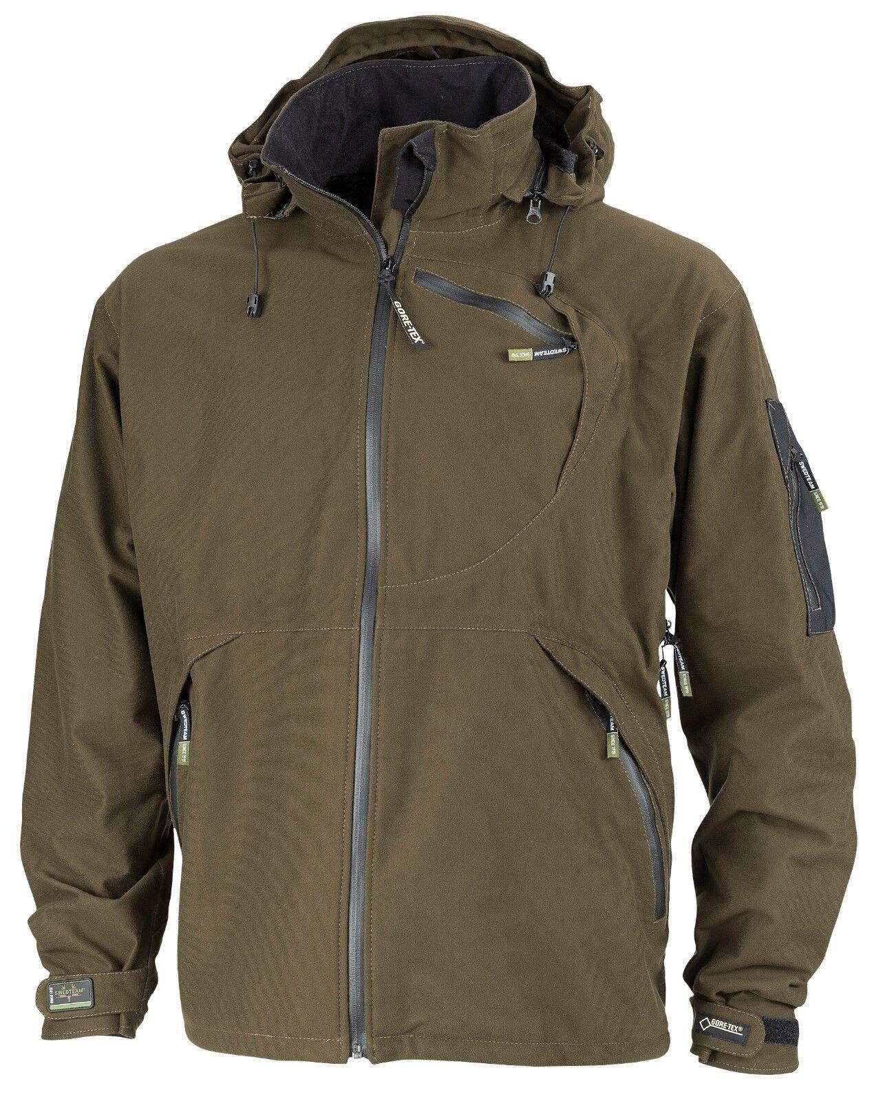 Swedteam caza chaqueta melvin Goretex-verde-Art 51-149 talla 54