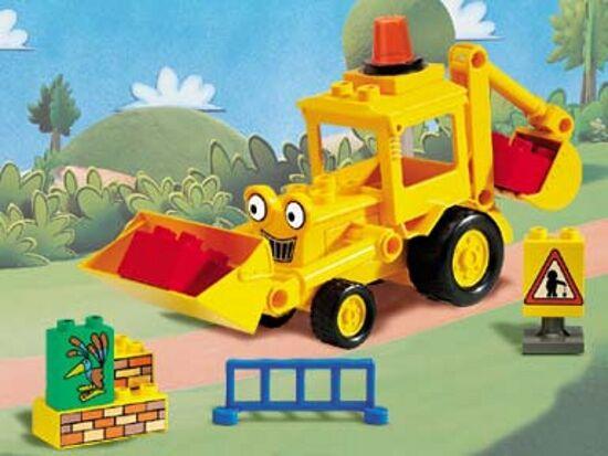 LEGO 3272 - - - Duplo Bob the Builder - Scoop on the Road - 2001 - NO BOX c74ddb