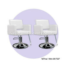 White Styling Chair Beauty Salon Equipment Furniture Package