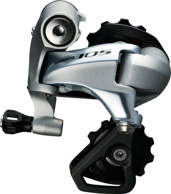 Black Shimano 105-5800 Rear Derailleur 11 speed Short Cage