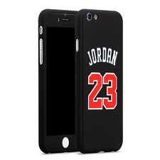 Apple iPhone 7 Plus Phone Case NBA Michael Jordan 23 Slim Cover Screen Protector