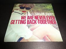 TAYLOR SWIFT We Are Never Ever Getting Back Together CD SINGLE Numbered
