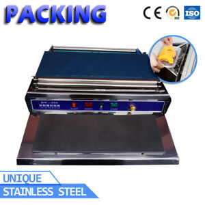 Commercial-Household-Food-Fruit-Tray-Wrapper-Film-Wrap-Sealer-Sealing-Machine