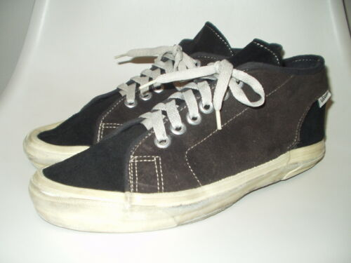 Vintage Vans Turf suede Shoes USA made Rare! / Lam