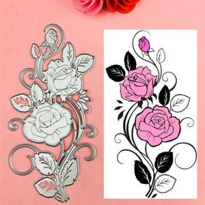 Stanzschablone 3D Blume Hochzeit Weihnachten Geburtstag Album Karte Einladung