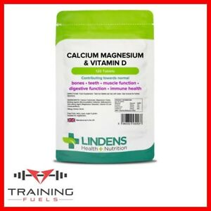 Details about Lindens Calcium Magnesium & Vitamin D 120 Tablets, Bones,  Teeth, Muscle Function