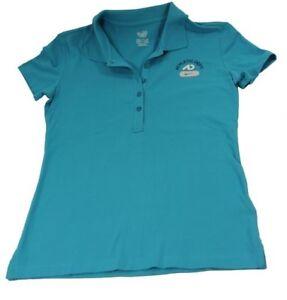 Nike T Shirt Polo The Athletic Dept. Tennis Bleu Femmes S (36 - 38)-afficher Le Titre D'origine