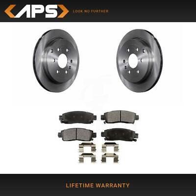 Rear Ceramic Brake Pads /& Rotor Kit For Buick Chevrolet GMC Saturn K8T-101664