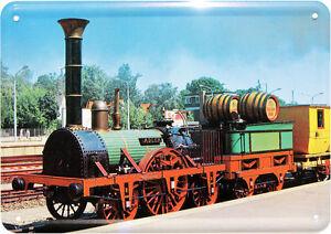 Retro Kühlschrank Pkm : Dampflock zug bahn lock nostalgie blechschild postkarte retro