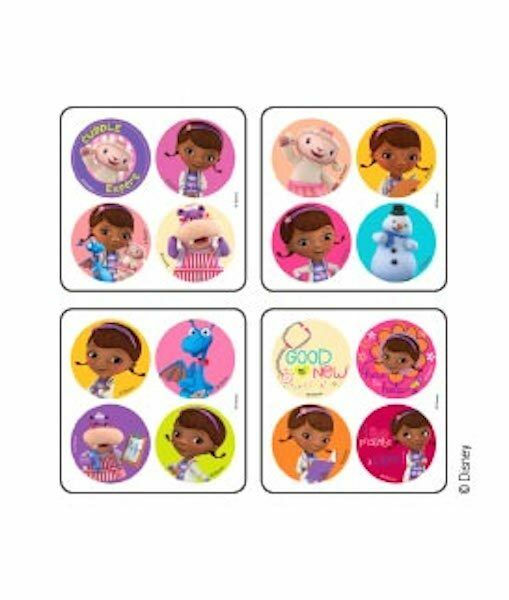 48 Disney Junior Doc McStuffins Stickers Party Favors Teacher Supply Dottie