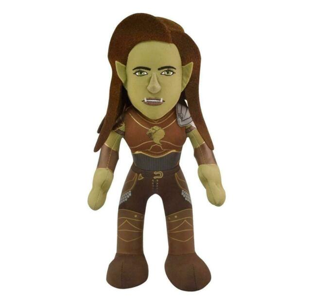 "Bleacher Creatures Legendary Pictures Warcraft Garona 10"" Plush Figure"