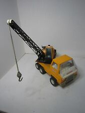 AD332 RICO SANSON JUNIOR CAMION GRUE MINIATURES ORANGE BON ETAT