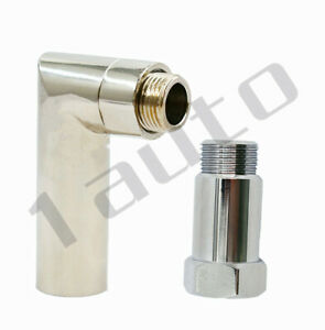 O2 oxygen sensor angled extender spacer 90 degree 02 bung extension M18 X 1.5 US