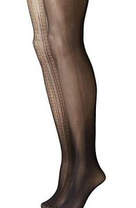 NEW-Betsey-Johnson-Women-039-s-Tights-In-Raised-Cable-Texture-2-Pack-Size-S-M-NWT