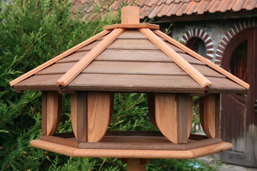 VOGELHAUS aus HOLZ Vogelhäuschen Vogelhäuser Vogelfutterhaus XXXL | Attraktives Aussehen  | Elegante und robuste Verpackung  | Öffnen Sie das Interesse und die Innovation Ihres Kindes, aber auch die Unschuld von Kindern, kindlich, glücklich