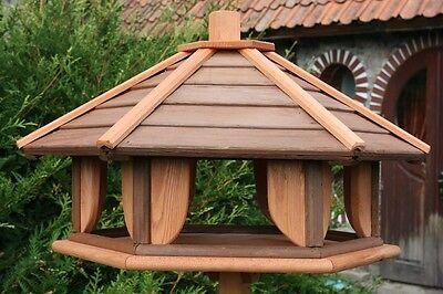 Vogelhaus Vogelhäuschen mit Ständer Vogelvilla Futterhaus Vogelhausständer XXL