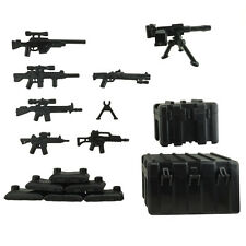 Custom Minifigure Military Army Guns Weapons Compatible for Lego Set Accessories