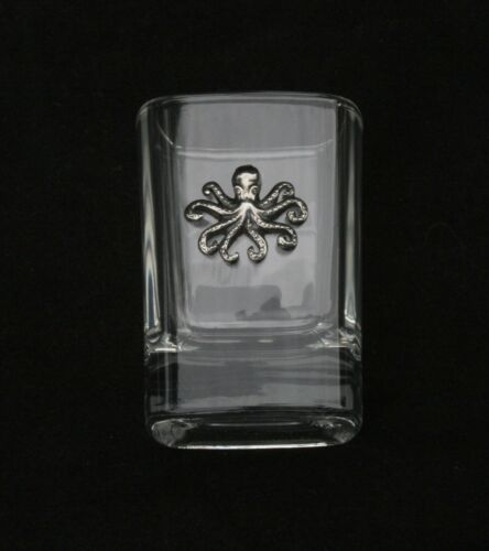 Octopus S Cut Crystal Shot Tot Glass Cup Ideal Wildlife Gift 249