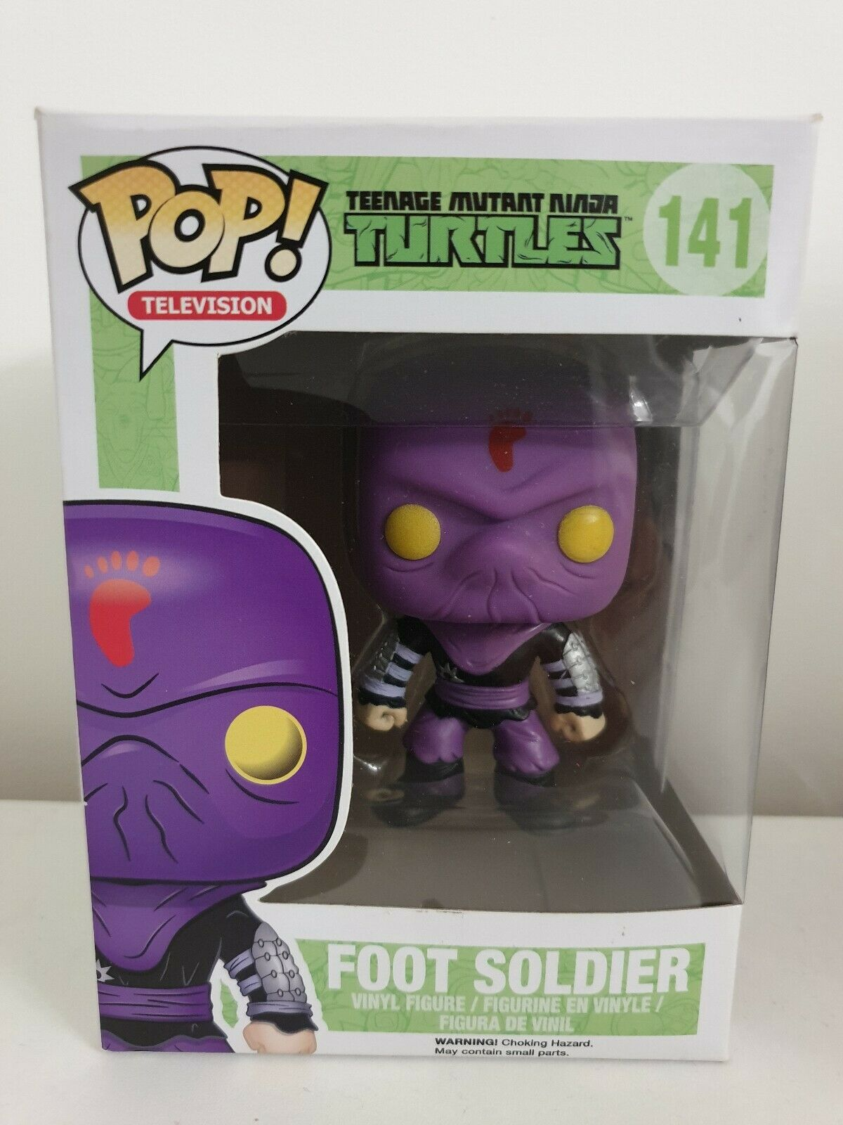 Foot Soldier Funko Pop Vinyl Figure  141 Teenage Mutant Ninja Turtles TMNT