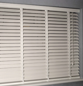 Image Is Loading WOODEN VENETIAN BLINDS 50MM SLATS With Tape Or