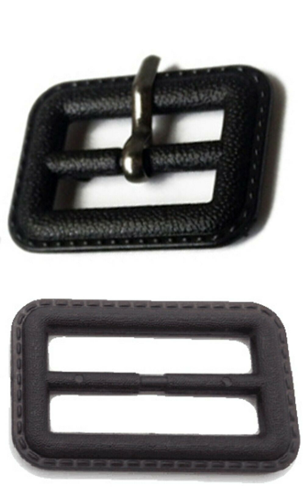 1 X Bolsa De Cinturón Para Hebillas De Imitación De Cuero Zapatos Abrigo Chaqueta Tamaño: 6.5cm #2