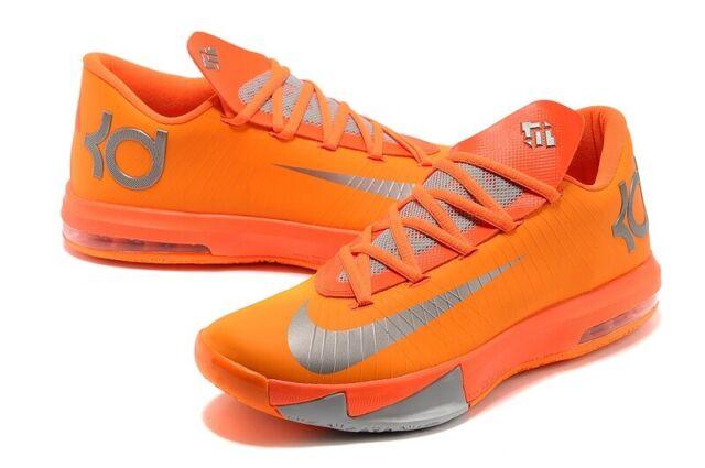 e99b8f8bc8d Nike KD VI NYC New York City 66 Total Orange Sz 9.5  599424-800